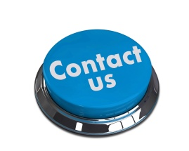 contact us 3d round button
